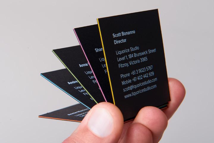 Liquorice studio business cards liquorice studio business cards colourmoves